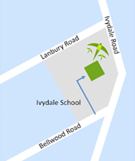 Map of Ivydale School