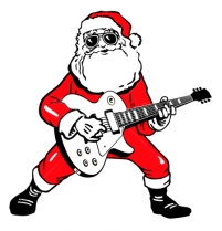 stock-vector-santa-claus-with-electric-guitar-64248481