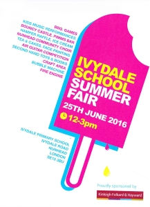 Ivydale School Summer Fair 2016